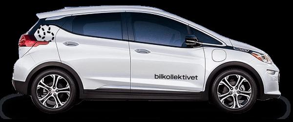 Non-profit bildeling - Elbil Opel Ampera e
