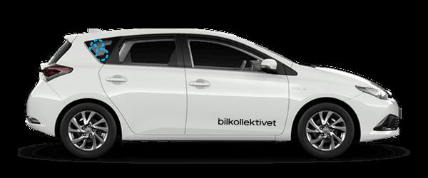 Non-profit bildeling - Mellomklasse Toyota Auris CC