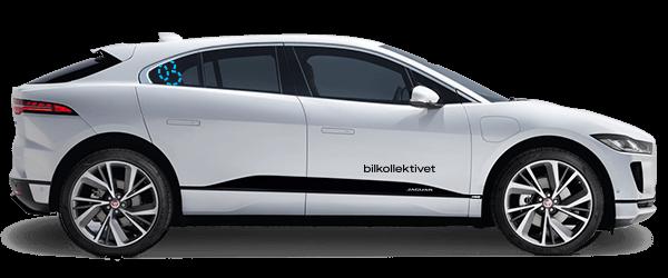 Non-profit bildeling - Premium Elbil Jaguar iPace