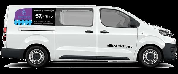 Non-profit bildeling - Varebil Toyota Proace L2