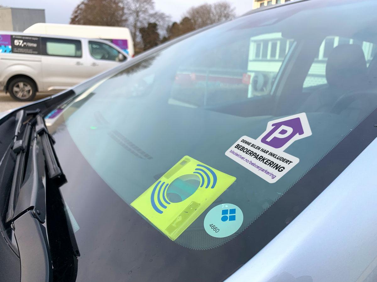 Bilkollektivet beboerparkering